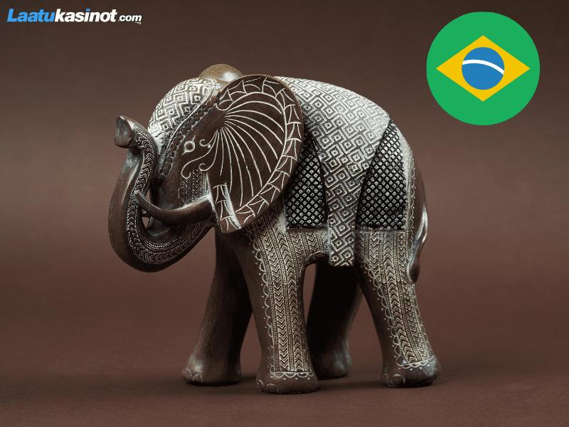 Elefantti koriste-esineenä