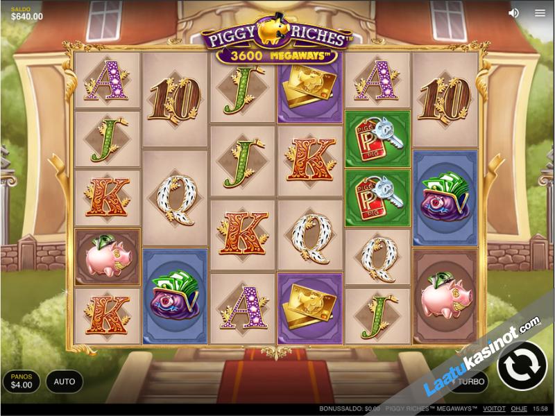 piggy riches kolikkopeli