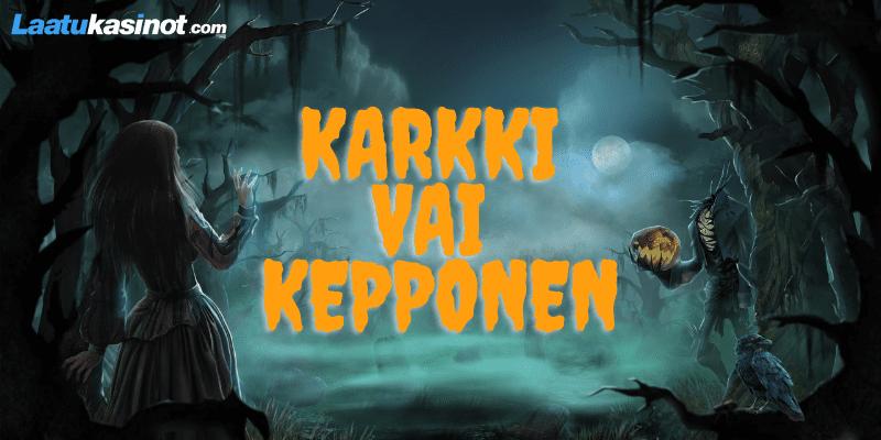 Halloweenin kolikkopelit