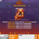 Hammer of Vulcan Voittotaulukko