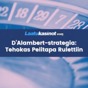 D'Alambert strategia