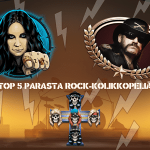 Top 5 Parasta Rock-Kolikkopeliä
